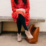 Outfit of the Week// The Little Red Dress, Teacher Style